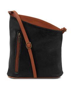 Tuscany Leather Mini Soft Leather Unisex Cross Bag