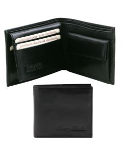 Tuscany Leather 3 Fold Wallet with Coin Pocket