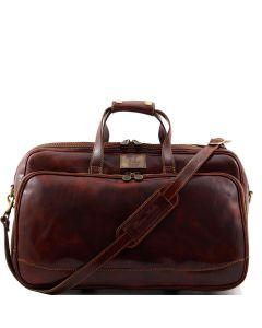 Tuscany Leather Bora Bora Travel Bag with Wheels