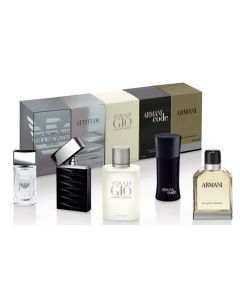 Armani Men Miniature Coffret Kit