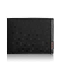 Tumi Alpha SLG - Black Global Double Billfold