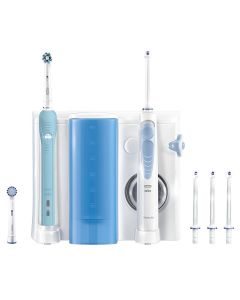 Oral B WaterJet Cleaning System + Pro 700 electric Toothbrush