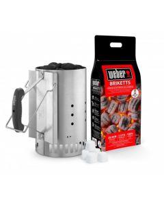 Weber Briquette starter set