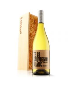 South African Sauvignon Blanc in Wooden Gift Box