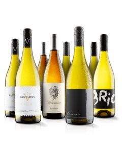 8 Bottle Must Have White Selection