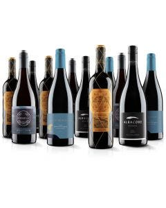 Luxurious 12 Bottle Red Selection