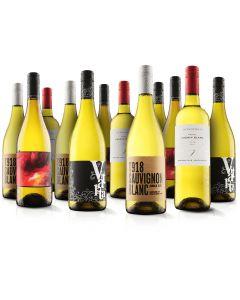 White 12 Bottle Selection