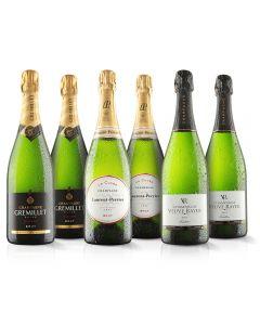 6 Bottle Champagne Selection