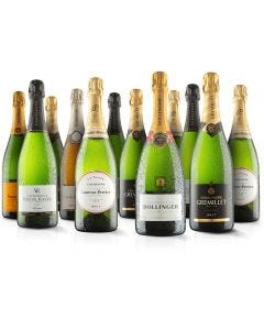 12 Bottle Champagne Selection