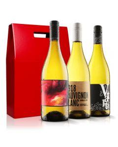 White Wine Trio with Gift Box