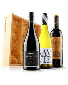 Luxurious Mixed Trio in Wooden Gift Box