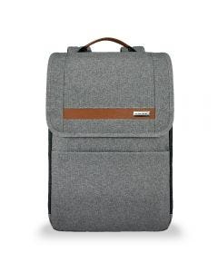 Briggs & Riley Kinzie Street Slim Expandable Backpack Grey